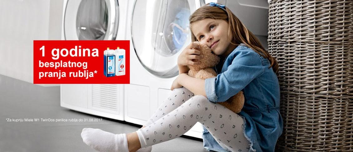 Pranje rublja je dječja igra. Doziranje deterdženta je automatsko. S dvofaznim TwinDos sustavom.