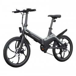 MS ENERGY e-bike i10 black grey