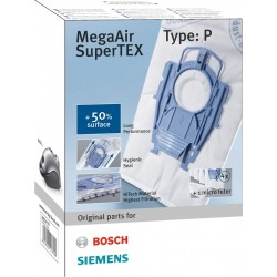 Bosch BBZ41FP Filter vrećice MegaAir SuperTEX