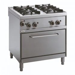 Whirlpool ADN 604 profesionalni plinski štednjak sa pećnicom 100cm