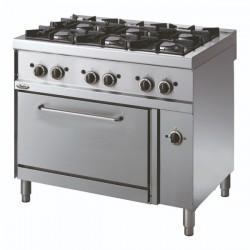 Whirlpool ADN 603 profesionalni plinski štednjak sa pećnicom 100cm