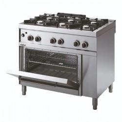 Whirlpool ADN 668 profesionalni plinski štednjak sa pećnicom 100cm