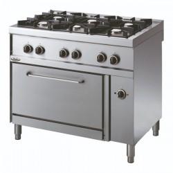 Whirlpool ADN 670 profesionalni plinski štednjak sa pećnicom 100cm