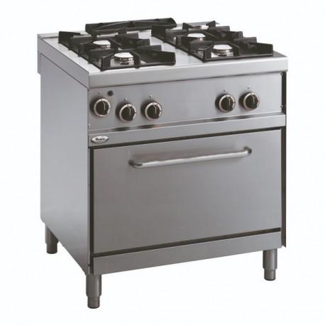 Whirlpool ADN671 profesionalni plinski štednjak sa pećnicom 80cm