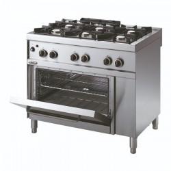 Whirlpool ADN 672 profesionalni plinski štednjak sa pećnicom 100cm