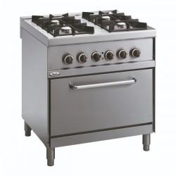 Whirlpool ADN 673 profesionalni plinski štednjak sa pećnicom 80cm