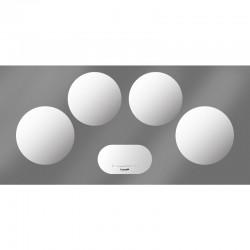 Foster modularna indukcija - set 4 polja bijela