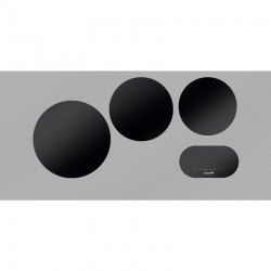 Foster modularna indukcija - set 3 zone za kuhanje, crna