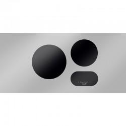 Foster modularna indukcija - set 2 zone za kuhanje, crna