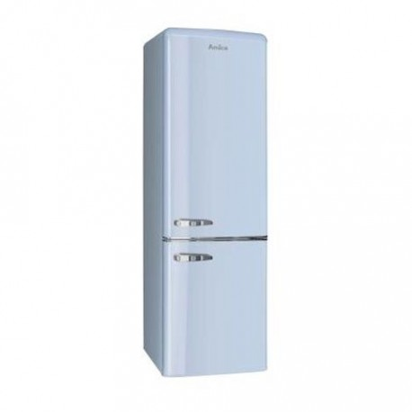 Hladnjak Amica FK2965.3LAA, A++, kombinirani, retro, plavi
