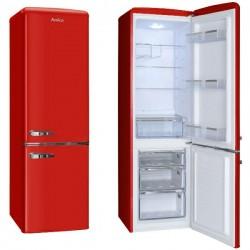 Hladnjak Amica FK2965.3RAA, A++, kombinirani, retro, crveni